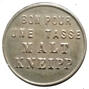Token - Section Allemande Gand – reverse