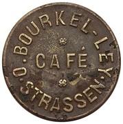 Token - Café Bourkel-Ley (Strassen) – obverse