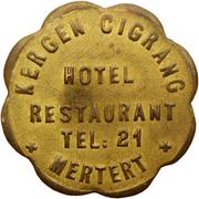 Token - Hôtel-Restaurant Kergen Cigrang (Mertert) – obverse