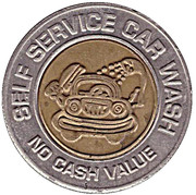 Car Wash Token - Quick (Kennewick, Washington) – reverse
