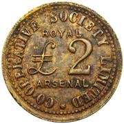 2 Pounds - Royal Arsenal CSL (Kent) – obverse