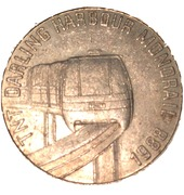 Token - TNT Darling Harbour Monorail (Koala) – reverse