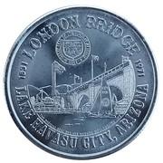 Havasu Dollar - London Bridge Rotary Club - Arizona Statehood (Lake Havasu City, Arizona) – obverse