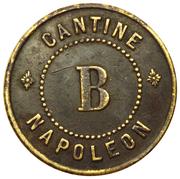 70 Centimes - Cantine Napoléon (Paris) – obverse