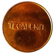 Token - Tecalemit – reverse