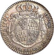 Jeton des Etats de Bretagne 1768 Rennes – reverse