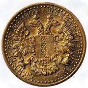 "Spielgeld Gaming Token - Franz Jos. ""Austriale"" Imperator 1904 Ducat – reverse"