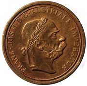 "Spielgeld Gaming Token - Franz Jos. ""Austriale"" Imperator 1904 Ducat (type 2) – obverse"