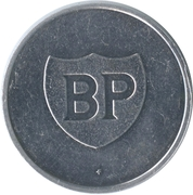 Token BP - Les cracks du sport Belge (Paul van Himst) – reverse