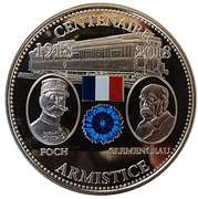 Token - The Great War 1914-1918 (Centenary of the Armistice) – obverse