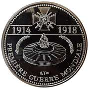 Token - The Great War 1914-1918 (Centenary of the Armistice) – reverse