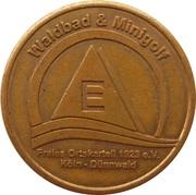 Token - Waldbad & Minigolf Dünnwald (Köln; Type E) – obverse