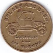 1 Dollar - Mt. Vernon (Mount Vernon, Washington) – obverse