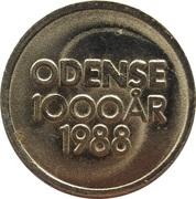 Token - 1000 Ar Odense – reverse