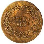 Spiel Marke (Nürnberger Spiel- und Rechenpfennig) – reverse