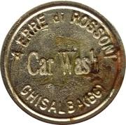 Car Wash Token - 4 Erre di Rossoni (Chisalba) – obverse