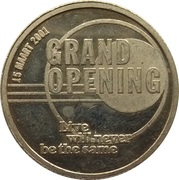 Token - Heineken Music Hall (Grand Opening) – obverse
