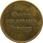 Token - Elektro Volkmann (Frechen) – reverse