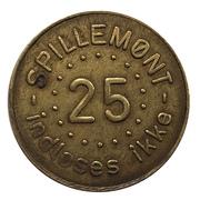 25 Spillemønt - Casablanca – obverse