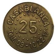 25 Spillemønt - Casablanca – reverse