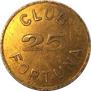 25 Spillemærke - Club Fortuna – obverse