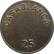 25 Spillemærke - Casablanca – obverse