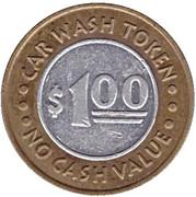 1 Dollar Car Wash Token - Waves Carwash (Fremont, Nebraska) – reverse