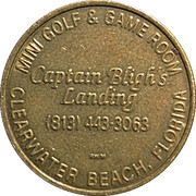 Token - Captain Bligh's Landing (Clearwater Beach, Florida) – obverse