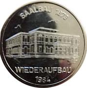 Token - Stadt Neustadt (Wiederaufbau Saalbau) – obverse