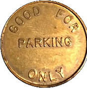 Parking Token - Automatic Parking Devices Inc. (Detroit, Michigan) – reverse