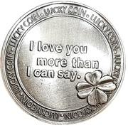Lucky Coin - I Love You – reverse