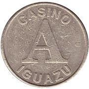 Token - Casino Iguazu (A) – obverse