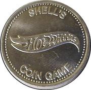 Token - Shell's Hot Wheels Coin Game (Ferarri 312-P) – reverse