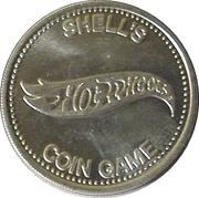 Token - Shell's Hot Wheels Coin Game (Alfa Romeo TT-33) – reverse