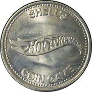 Token - Shell's Hot Wheels Coin Game (De Tomaso Pantera) – reverse