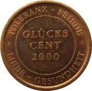 Glücks Cent (München) – reverse