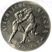 Token - Gesellschaft zur Förderung des olympischen Gedankens (Griechische Ringer) – obverse