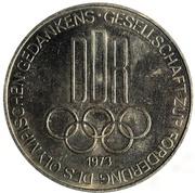 Token - Gesellschaft zur Förderung des olympischen Gedankens (Griechische Ringer) – reverse