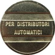 Token - Per distributori automatici – obverse