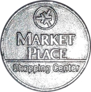 Parking Token - Market Place Shopping Center – obverse