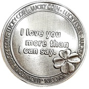 Lucky Coin - I Love You – obverse