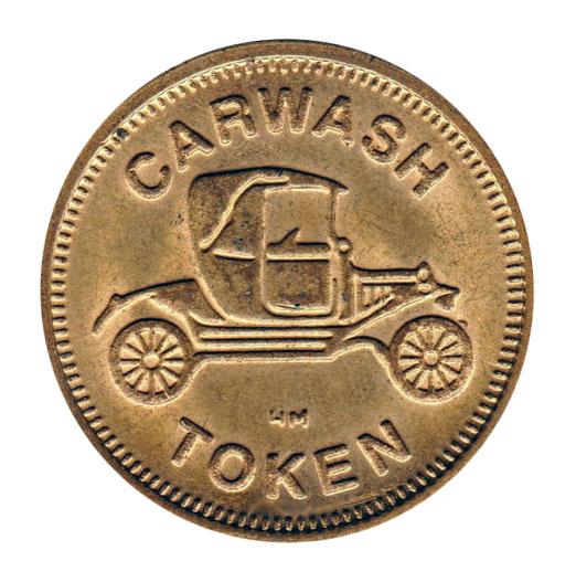 Car Wash Token Coin