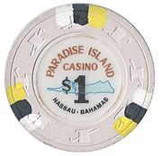 1 Dollar - Paradise Island Casino (Nassau) – reverse
