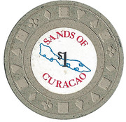 1 Dollar - Sands of Curacao – obverse
