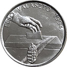 Token - Hungary 1994 elections – reverse