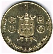 1 Euro (Pont-à-Mousson) – obverse