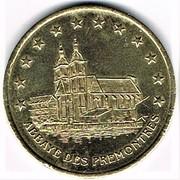 1 Euro (Pont-à-Mousson) – reverse