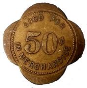 50 Cents - Cummins State Farm (Grady, Arkansas) – reverse