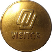 Parking & Transportation Token - OU Visitor (Norman, Oklahoma) – obverse