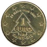1 Euro (Saint-Dié) – obverse
